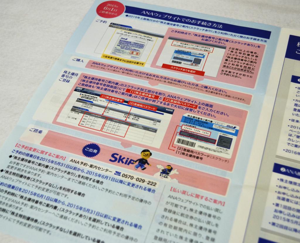 s03ANA株主優待_webサイト使い方